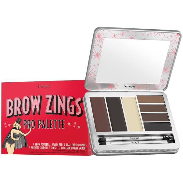benefit Brow Zings Pro Brow Wax & Powder Palette Medium/Deep