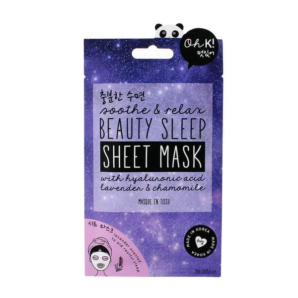 Oh K! Soothe & Relax Beauty Sleep Sheet Mask
