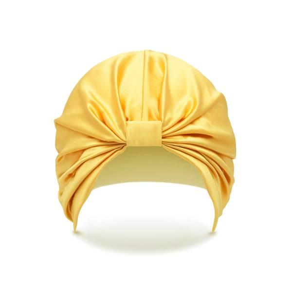 SILKE Hair Wrap The Sienna - Golden Yellow