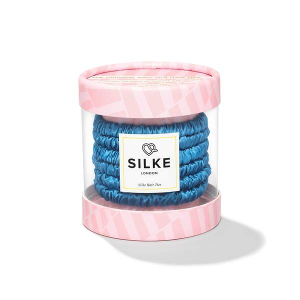 SILKE Hair Ties Bluebelle Powder - Blue
