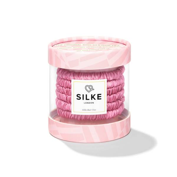 SILKE Hair Ties Blossom Powder - Pink
