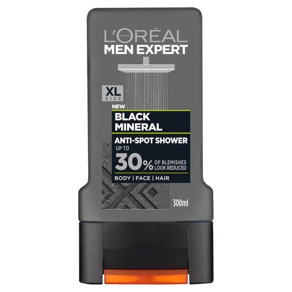 L'Oréal Paris Men Expert Black Mineral Anti-Spot Shower Gel 300ml