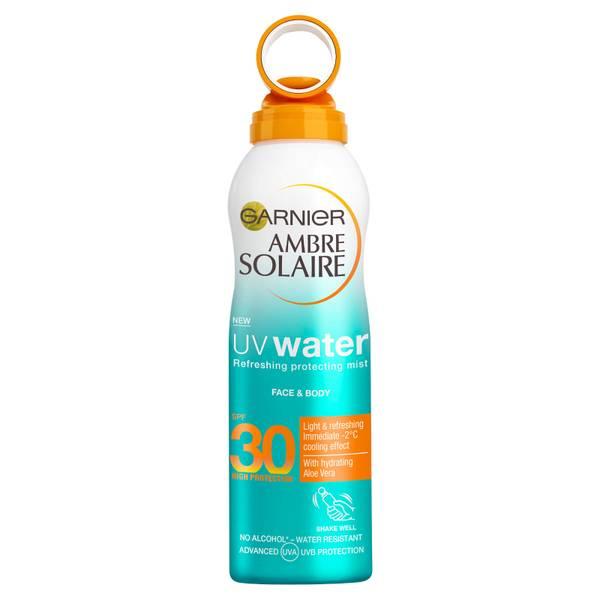 Garnier Ambre Solaire UV Water Clear Sun Cream SPF30 Mist 200ml