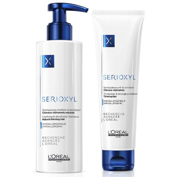 L'Oréal Professionnel Serioxyl Shampoo and Conditioner Duo - Natural Hair