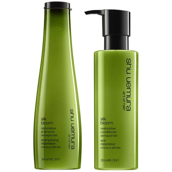Shu Uemura Art of Hair Silk Bloom Shampoo and Conditioner Duo