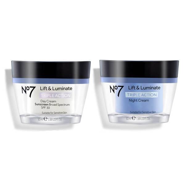 Lift & Luminate Day and Night Cream ($53.98 Value)