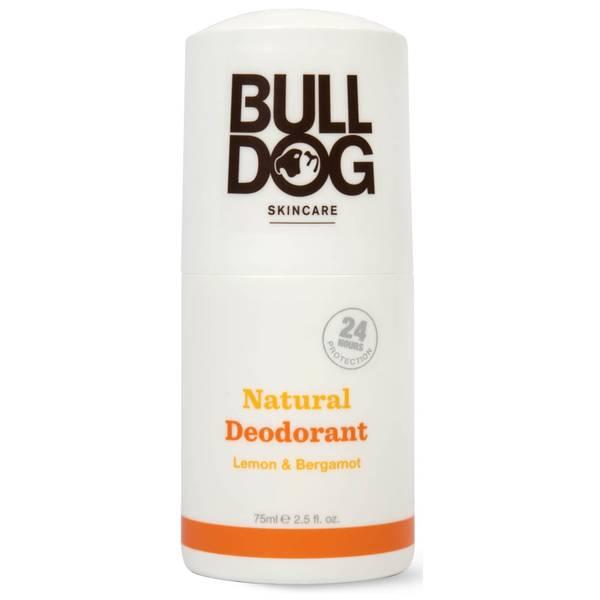 Bulldog Lemon & Bergamot Natural Deodorant 75ml