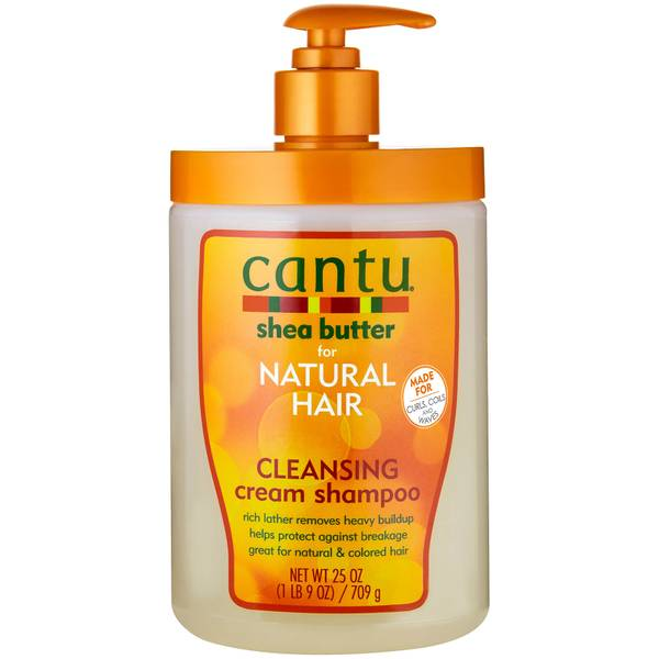 Cantu Shea Butter for Natural Hair Cleansing Cream Shampoo – Salon Size 25 oz