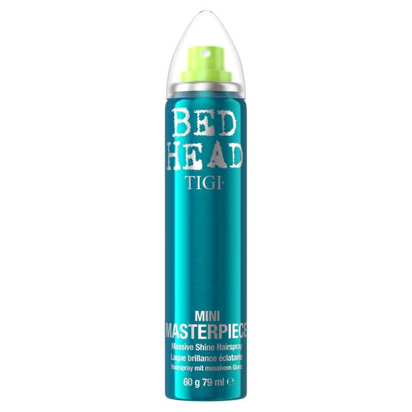 TIGI Bed Head Travel Size Masterpiece Shiny Hairspray for Strong Hold 79ml