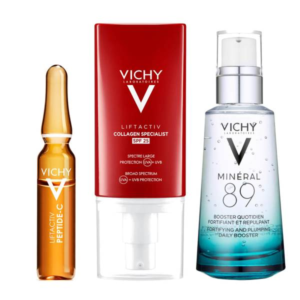 VICHY Complete Hyaluronic Acid, Strengthen and Protection Bundle