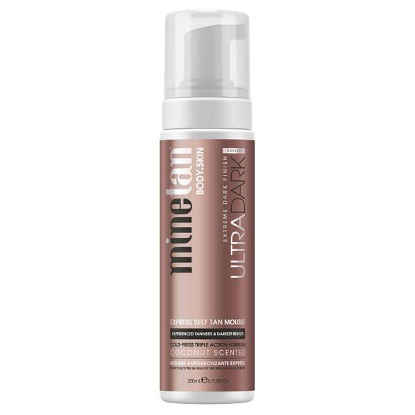 MineTan Ultra Dark Self Tanning Mousse 200ml