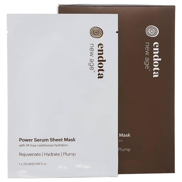 endota spa New Age Power Serum Sheet Mask (4 Masks)