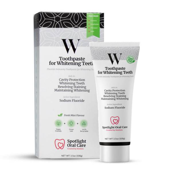 Spotlight Oral Care Toothpaste for Whitening Teeth