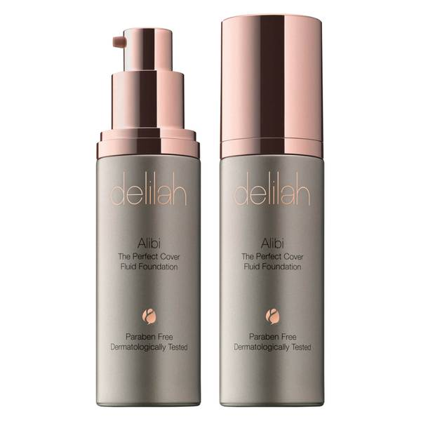 delilah Alibi Fluid Foundation (Various Shades)