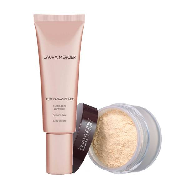 Laura Mercier Pure Canvas Primer Illuminating and Translucent Powder (Various Shades)