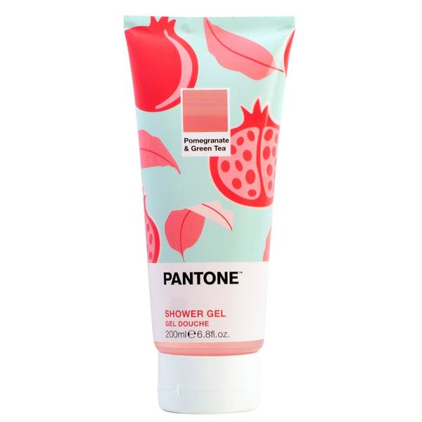 Bubble T X Pantone Pomegranate & Green Tea Shower Gel 200ml