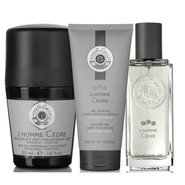 Roger&Gallet L'Homme Cedre Men's Fragrance Bundle