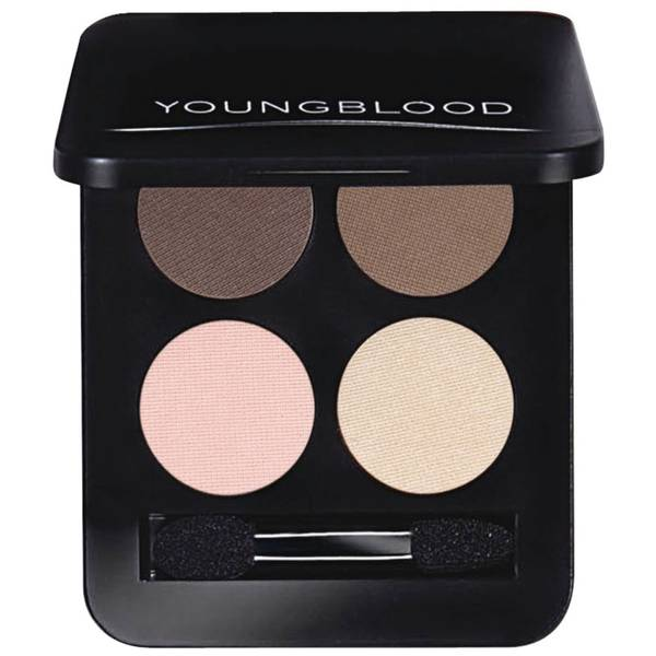 Youngblood Pressed Mineral Eyeshadow Quad 4g (Various Shades)