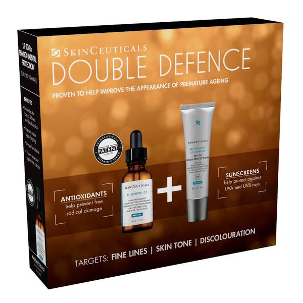 SkinCeuticals Double Defence Kit Phloretin C F and Brightening UV Defense Duo (Worth £191.00)