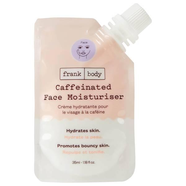 Frank Body Caffeinated Face Moisturiser Pouch 35ml