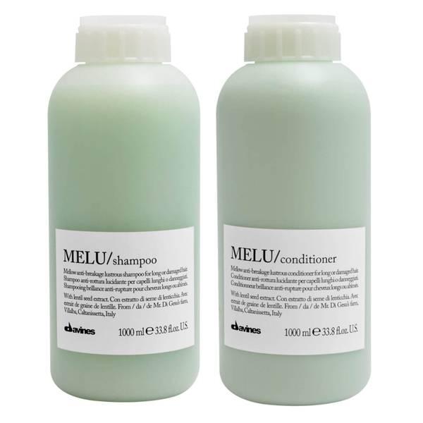 Davines Melu Mellow Anti-Breakage Shampoo and Conditioner