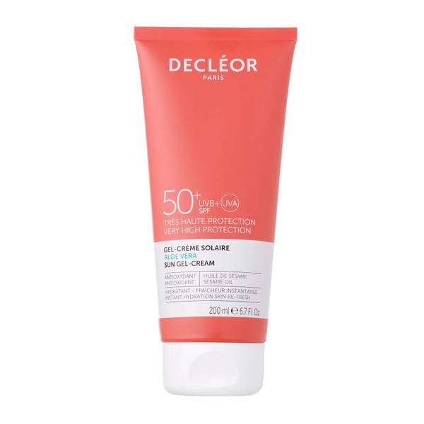 DECLÉOR Aloe Vera Suncare Gel-Cream SPF50+ 200ml