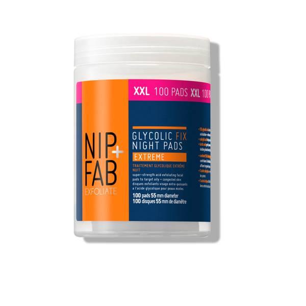 NIP+FAB Glycolic Fix Night Pads Extreme XXL (100 Pads)