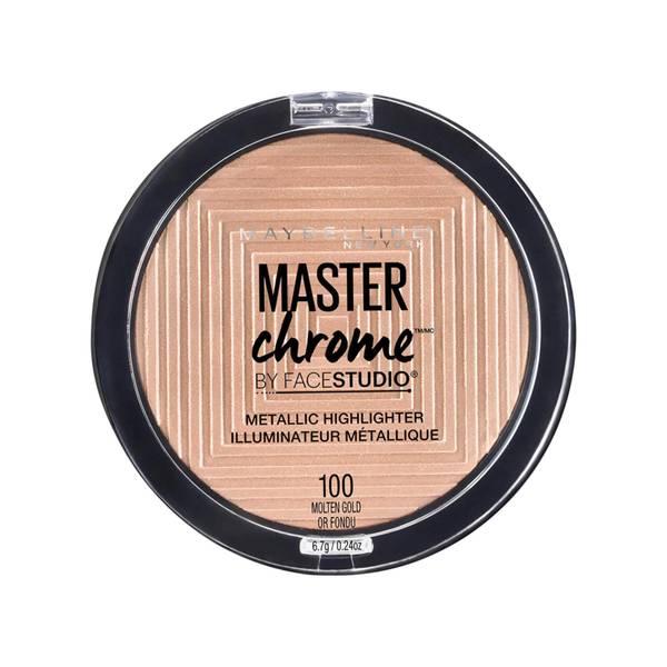 Maybelline Master Chrome Metallic Highlighter Powder 6.7g (Various Shades)