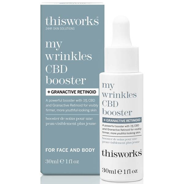 this works My Wrinkles CBD Booster and Granactive Retinoid
