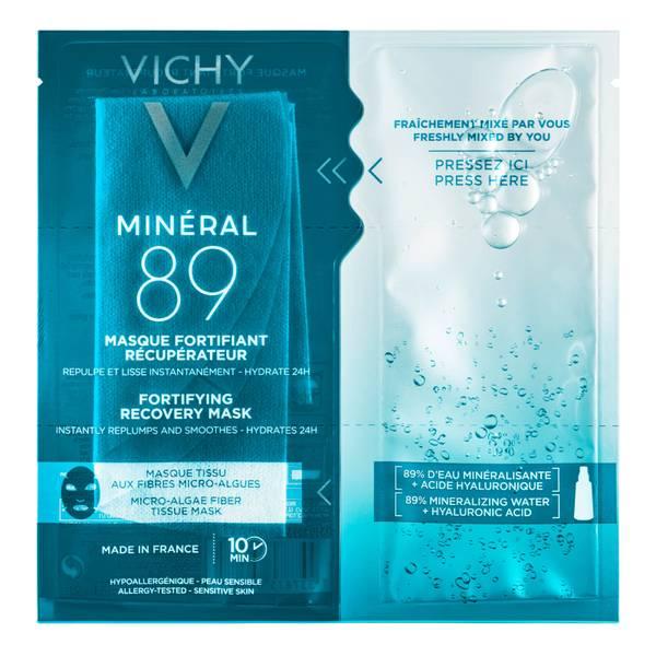 VICHY Minéral 89 Hyaluronic Acid Fortifying Sheet Mask