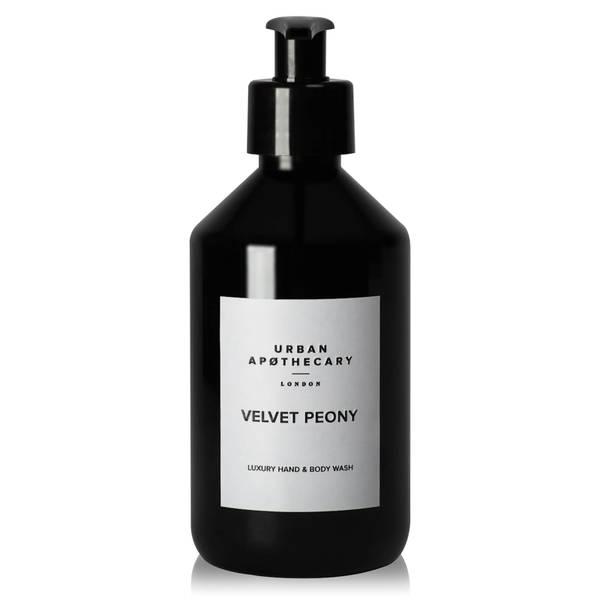 Urban Apothecary Velvet Peony Luxury Hand & Body Wash 300ml