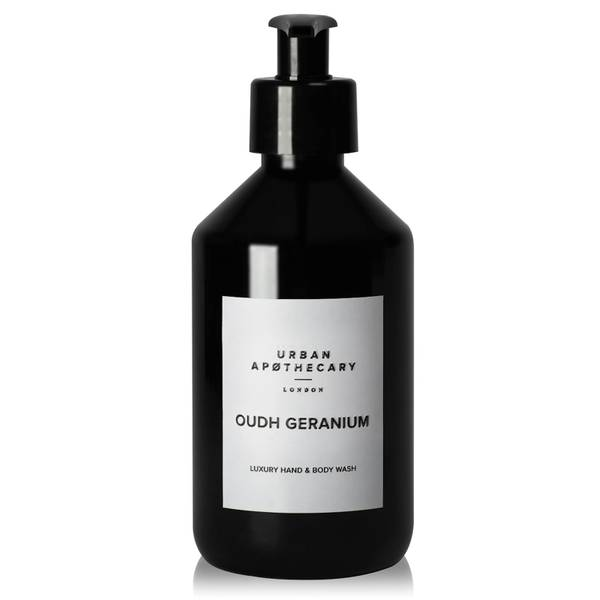 Urban Apothecary Oudh Geranium Luxury Hand & Body Wash 300ml