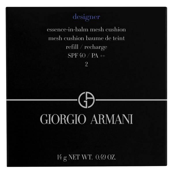 Armani Designer Essence-In-Balm Mesh Cushion Foundation Refill (Various Shades)