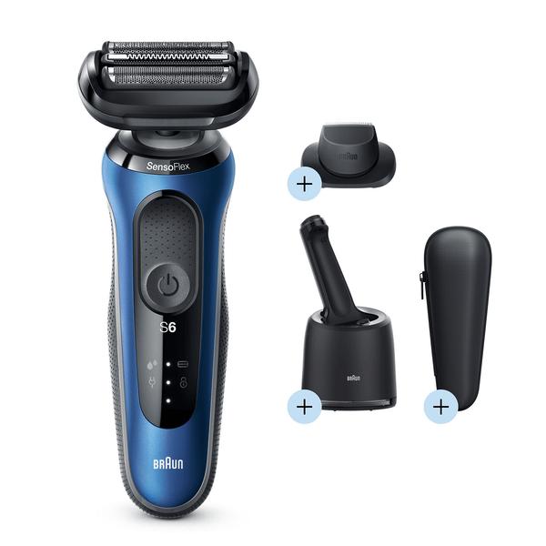 Braun Series 6 60-B7200cc Electric Shaver, Blue