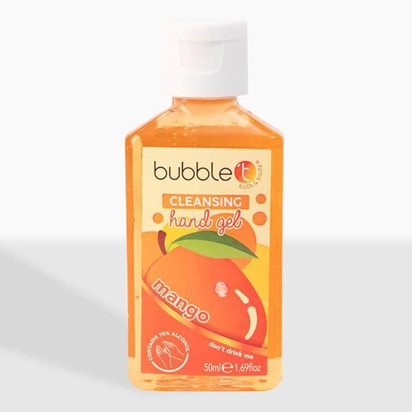 Bubble T Hand Cleansing Gel - Mango 50ml
