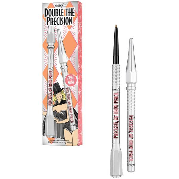 benefit Double the Precision Precisely My Brow Pencil Booster Set (Various Shades)