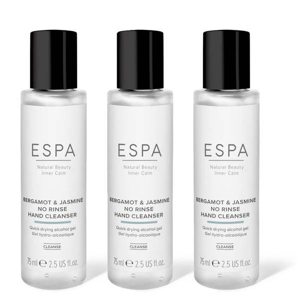 ESPA No Rinse Hand Cleanser Trio