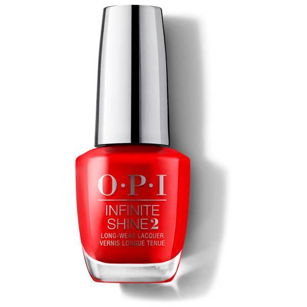 OPI Infinite Shine Unrepentantly Red Nail Varnish 15ml