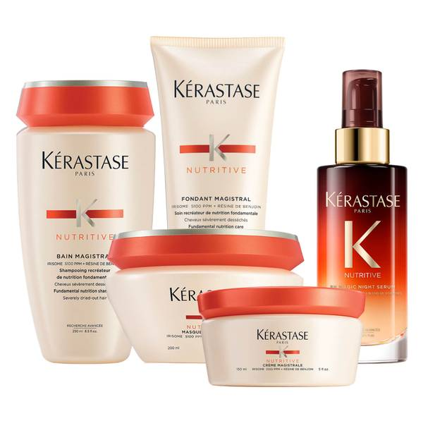 Kérastase Nutritive 24 Hour Intensely Nourishing Routine for Thick Hair