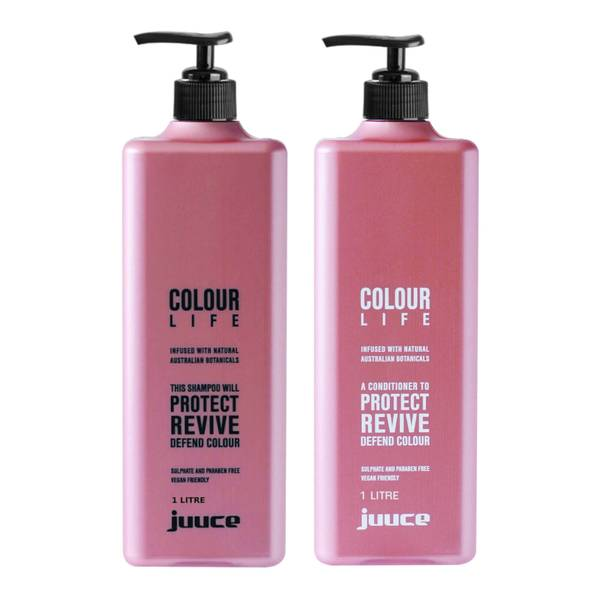Juuce Colour Life Shampoo and Conditioner Duo 2 x 1L