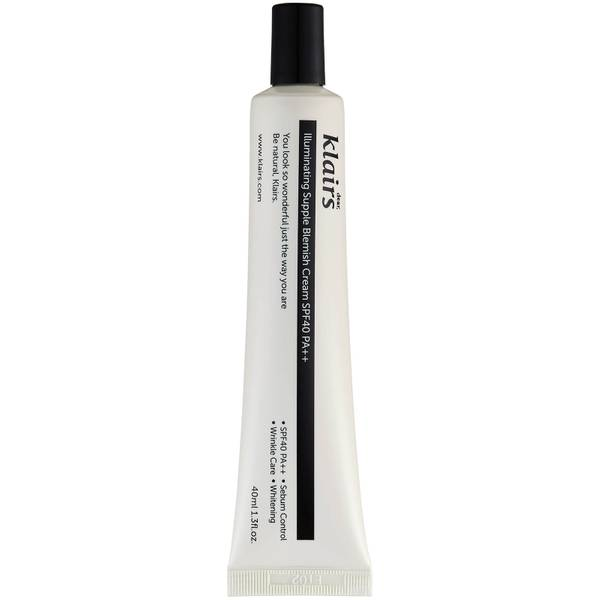 Dear, Klairs Illuminating Supple Blemish Cream SPF40 PA++ 40ml