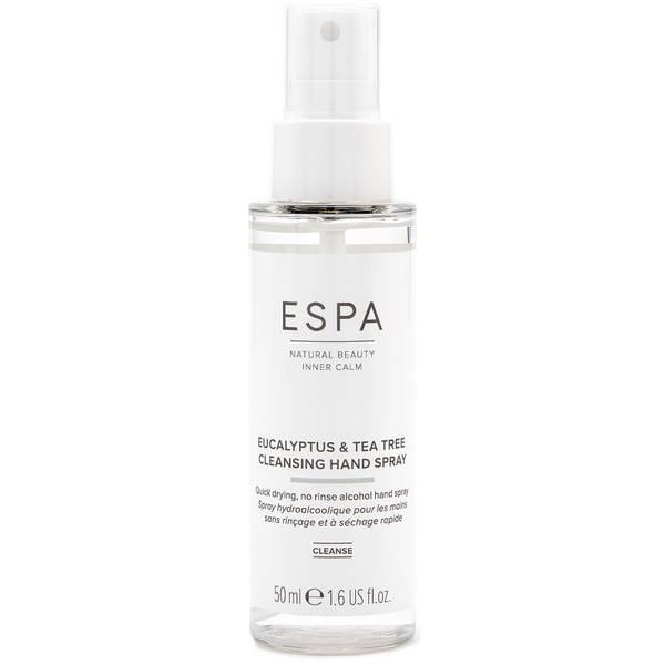 ESPA Eucalyptus and Tea Tree No Rinse Hand Spray 50ml