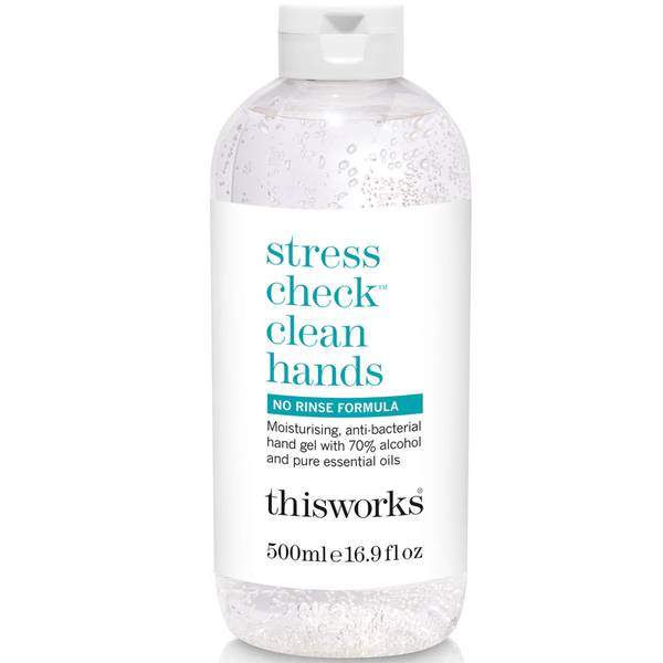 this works Stress Check Clean Hands Gel 500ml