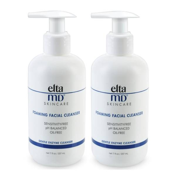 Elta MD Foaming Facial Cleanser Duo (Worth $55)