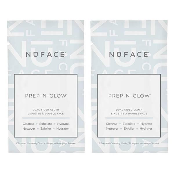 NuFACE Prep-N-Glow Cloths Duo