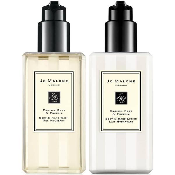 Jo Malone London English Pear and Freesia Soap, Hand Wash and Lotion Bundle