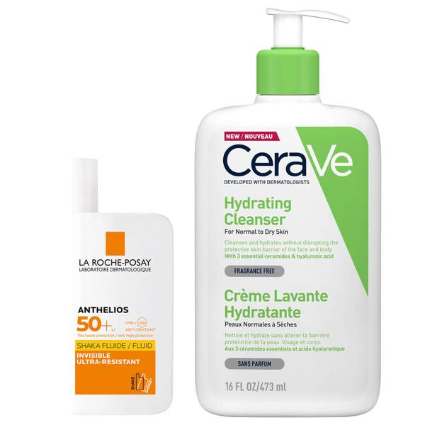 Cleanse and Protect Essentials Expert Skin Routine Bundle