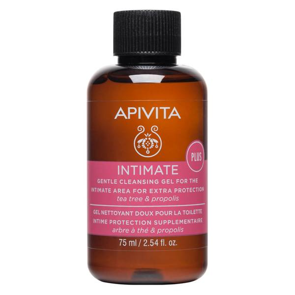 APIVITA Gentle Cleansing Gel for the Intimate Area for Extra Protection 75ml