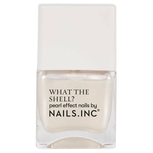 nails inc. What the Shell World's Your Oyster Babe Top Coat 14ml