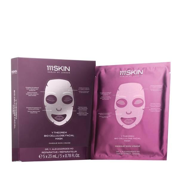 111SKIN Y Theorem Bio Cellulose Facial Mask Box